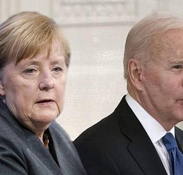 Biden ve Merkel'den Ukrayna'ya destek