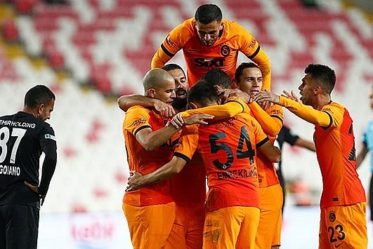 Galatasaray vites yükseltti