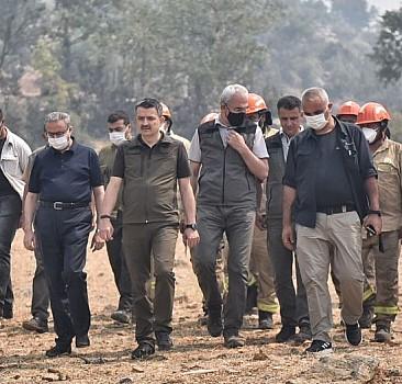 Pakdemirli: Orman yangınıyla ilgili 4 kişi gözaltında