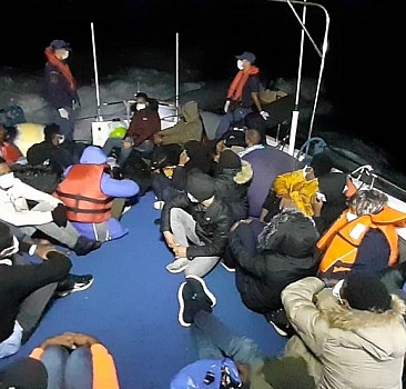 Aydın'da 30 sığınmacı yakalandı
