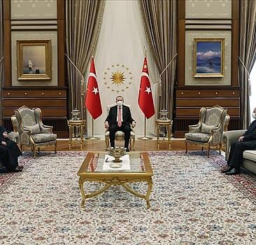 Erdoğan, Mescid-i Aksa İmamını kabul etti
