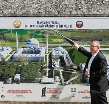 Trakya Üniversitesi Kuzey Makedonyalı bakan ile heyeti ağırladı
