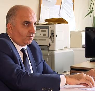 Türkiye'nin görme engelli tek okul müdürü oldu