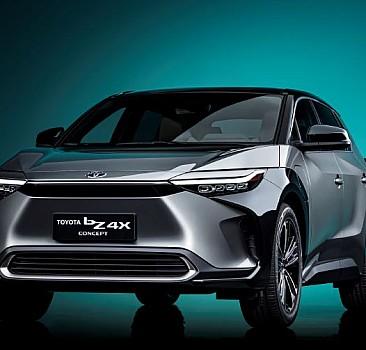 Toyota bZ4X Konsepti ortaya çıktı!