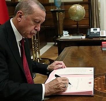 Erdoğan'dan önemli atama