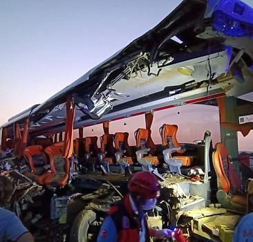 Soma'da korkunç kaza: 9 ölü