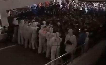 Çin'in Pudong şehrinde virüs paniği!