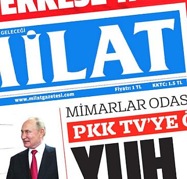 1 Ekim 2021 Milat Gazetesi