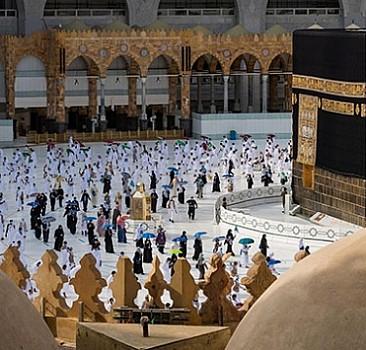 Mescid-i Haram'dan müjdeli haber