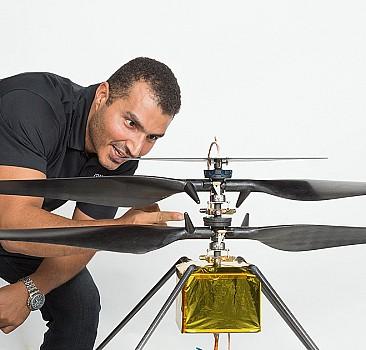 Mars'a giden helikopterde bir Filistinli