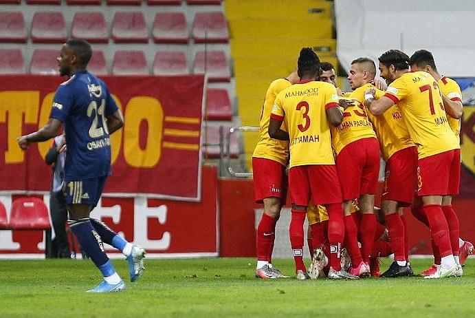 Fenerbahçe Kayserispor'u yendi