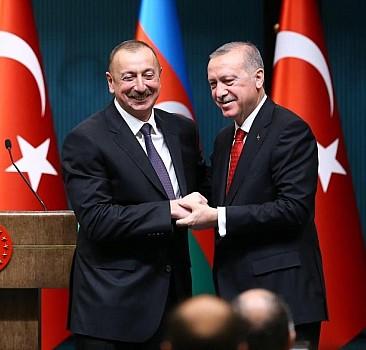 Erdoğan'dan Aliyev'e tebrik!