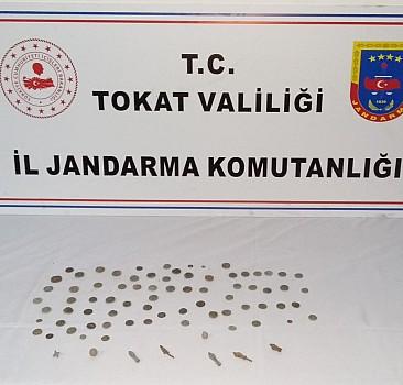Tokat'ta tarihi eser operasyonu: 2 gözaltı