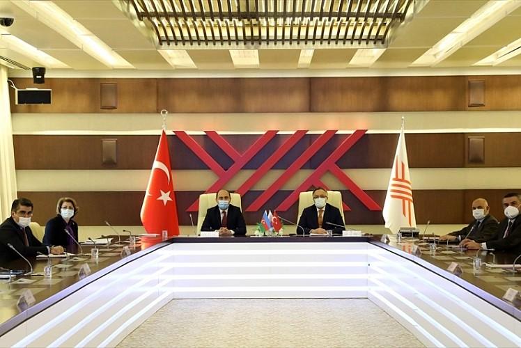 Azerbaycan Eğitim Bakanı, YÖK'ü ziyaret etti