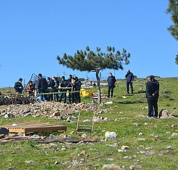 Balıkesir'de bir arazide bebek cesedi bulundu