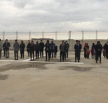 Güvenlik güçleri 37 kaçak göçmeni yakaladı