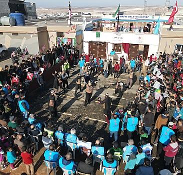 Türkiye Diyanet Vakfı İdlib'de okul açtı