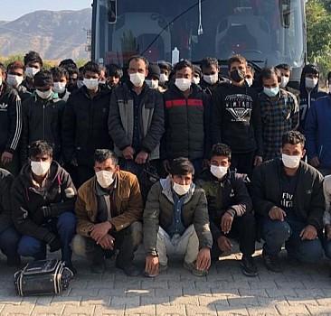 Batman'da 55 göçmen yakalandı