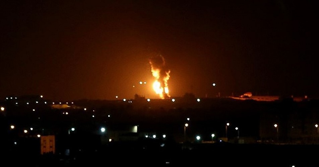 Siyonistler yine Filistin'e saldrıdı