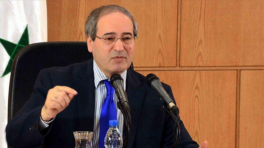 Esed rejiminin yeni Dışişleri Bakanı belli oldu