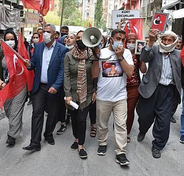 HDP İl Başkanlığı önünde eylem
