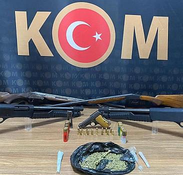 Malatya'da silah ticareti ve kaçakçılık operasyonu