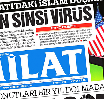 21 Eylül 2021 tarihli Milat Gazetesi
