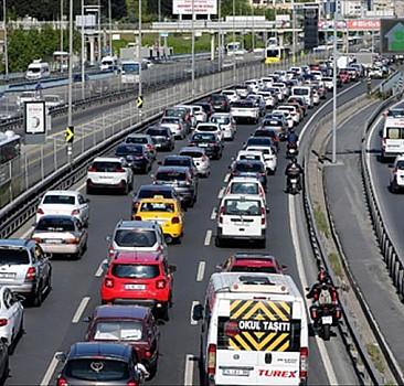 İstanbul'da trafik yoğun! İşte son durum