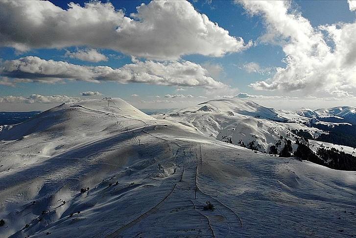 Anadolu'nun yüce dağı Ilgaz'ın muhteşem görüntüsü
