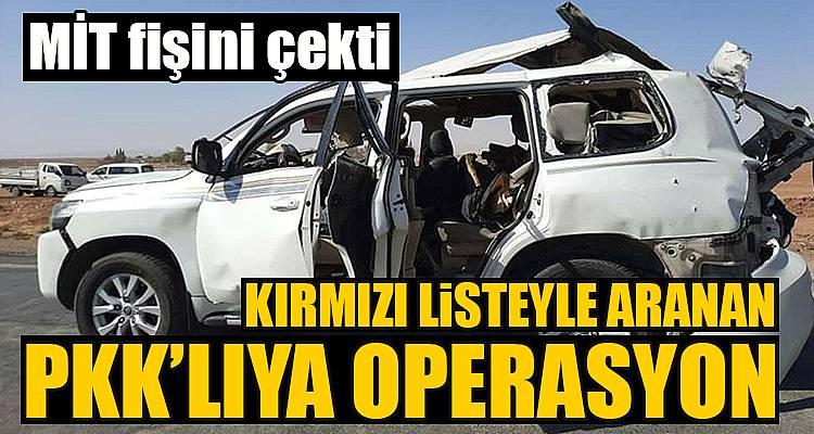 Kırmızı kategorideki PKK'lının fişi çekildi