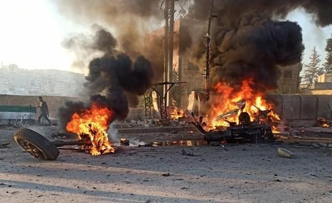 Afrin'de alçak saldırı!