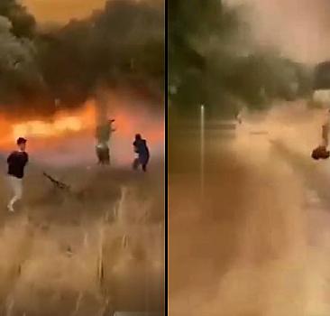Yangında kozalak tehlikesi