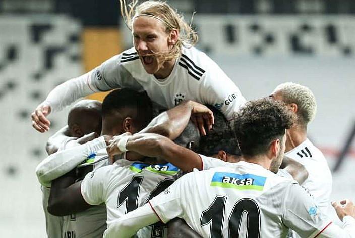 Beşiktaş'tan tek gollü galibiyet