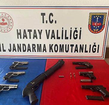 Kaçak silah imalathanesine operasyon: 2 gözaltı