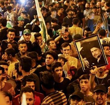 Irak'ta kesin olmayan sonuçlara göre seçimin kazananı Sadr Grubu