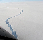 Antartika'da korkutan görüntü
