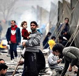 Kuveyt'ten Filistinli mülteciler için 21,5 milyon dolar