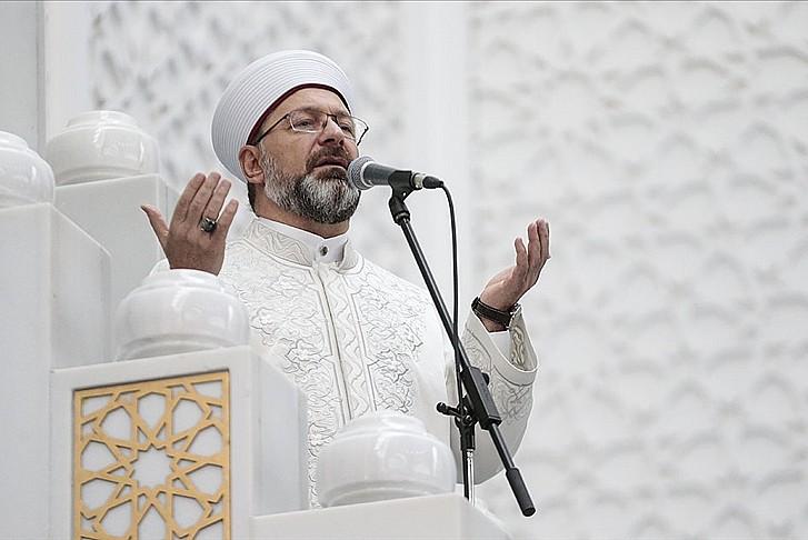 Ali Erbaş yarın dua programına katılacak