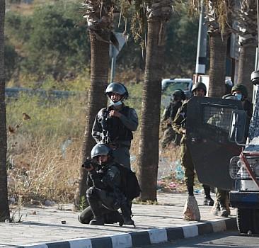 İsrail güçlerinin saldırısında 5 Filistinli yaralandı