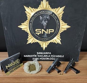 Şanlıurfa'da uyuşturucu operasyonu:16 gözaltı
