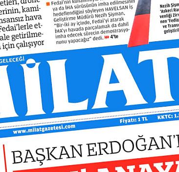 7 ekim 2021 Milat Gazetesi