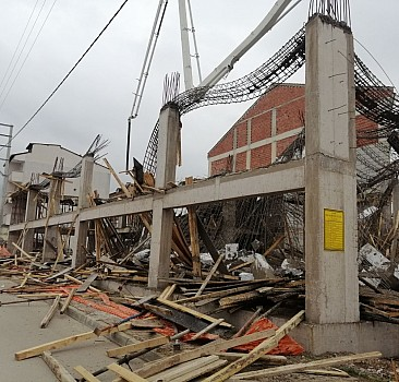 Bursa'da inşaat kalıbı çöktü: 4 yaralı