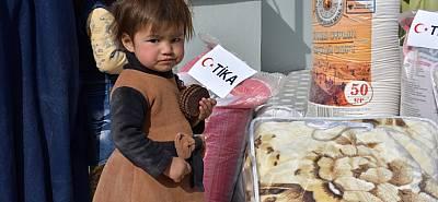 TİKA, savaş mağduru Türkmen ailelerin yardımına koştu