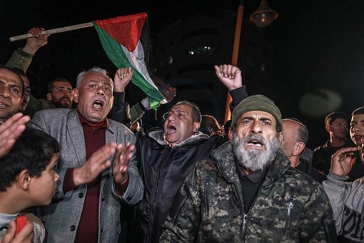 Sadr yanlıları Filistin direnişi için ayaklandı