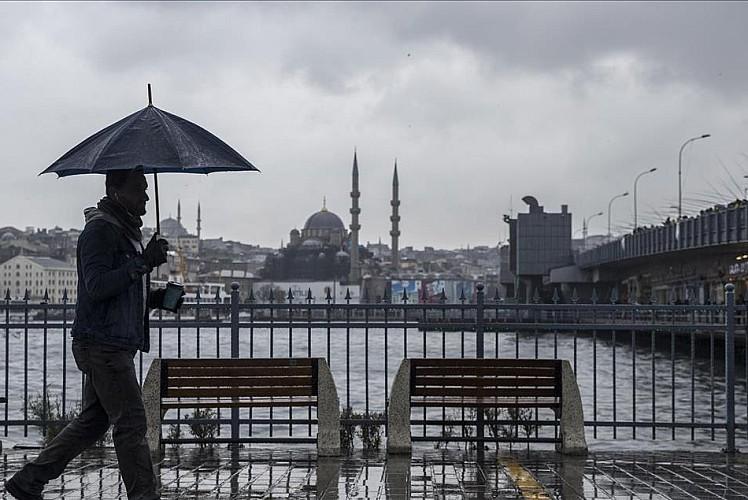 İstanbul'a 'sarı kodlu' uyarı