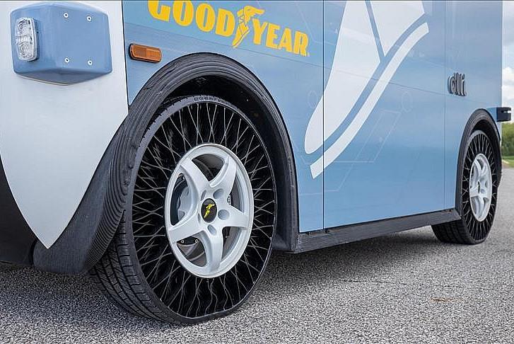 Goodyear'ın havasız lastikleri için hedef toplu taşıma