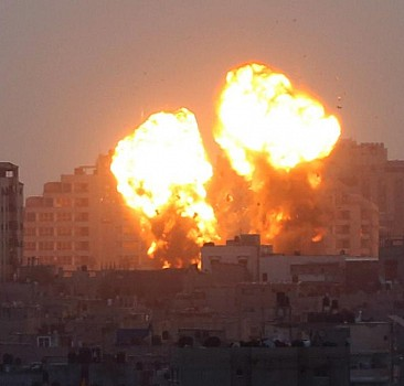 Direnişi kıramayan İsrail tekrar saldırdı