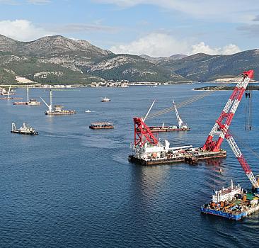 Bosna Hersek'e deniz engeli
