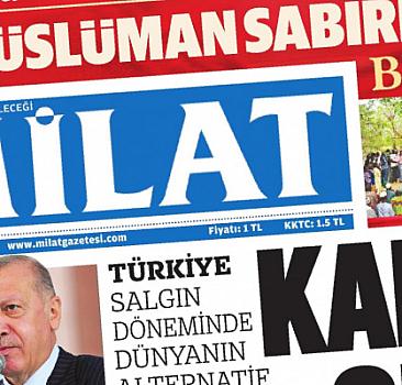 17 Eylül 2021 tarihli Milat Gazetesi