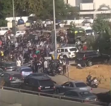 Beyrut sokakları karıştı